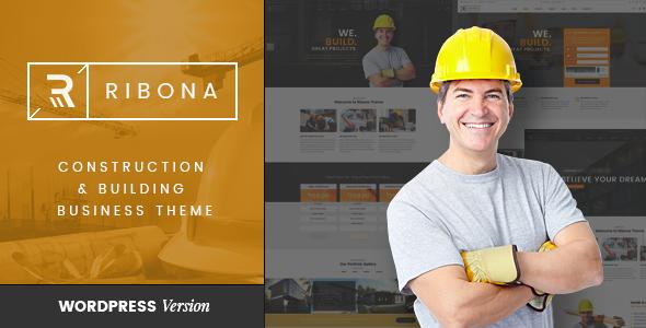 VG Ribona v1.3 — WordPress Theme for Construction
