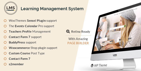 LMS v4.8 — Responsive Learning Management System