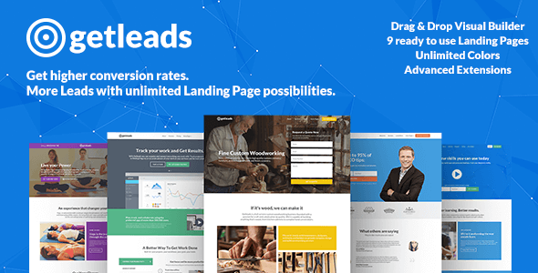 Getleads v1.6 — High-Performance Landing Page Theme
