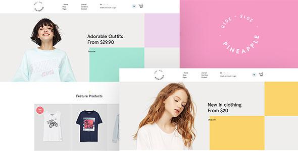 Pineapple v1.0 — Minimal WooCommerce WordPress Theme