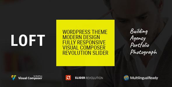 Loft v1.04 — Agency/Portfolio WordPress Theme
