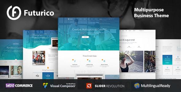 Futurico v1.1 — Business WordPress Theme