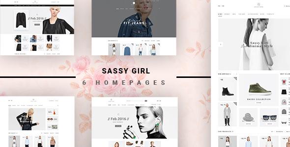 VG Sassy Girl v1.3 — Responsive WooCommerce Theme