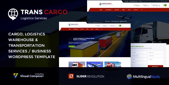 Trans Cargo v2.1.2 — Transport and Logistics WordPress