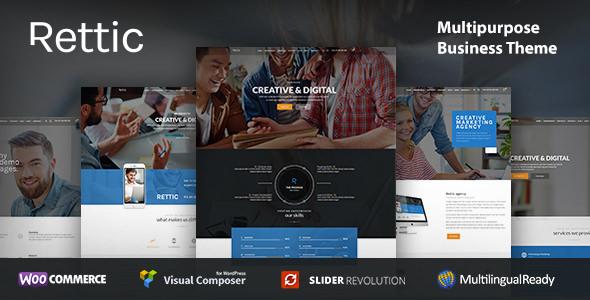 Rettic v1.0.1 — Business WordPress Theme