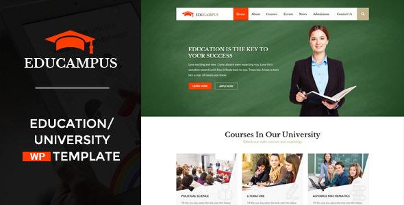 Educampus v3.1 — Education & University WordPress Theme