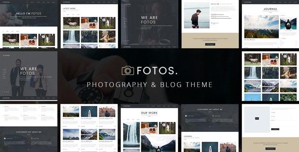 Fotos v1.0.2 — Responsive Photography Theme
