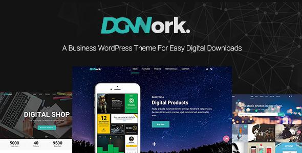 DGWork v1.1.8 — Business Theme For Easy Digital Downloads