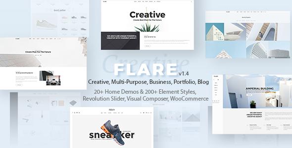 Flare v1.4 — Flexible Multipurpose Theme
