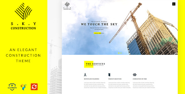 Construction v1.2 — Responsive Construction Theme