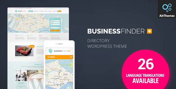 Business Finder v2.21 — Directory Listing WordPress Theme