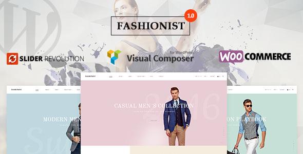 Fashionist v1.0.1 — WooCommerce WordPress Theme