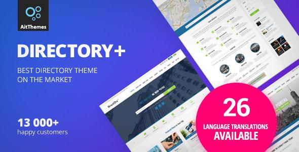 Directory+ v2.22 — WordPress Theme