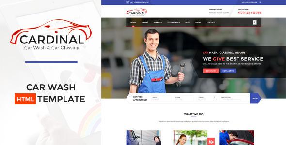 Car dinal — Car Wash & Workshop HTML Template