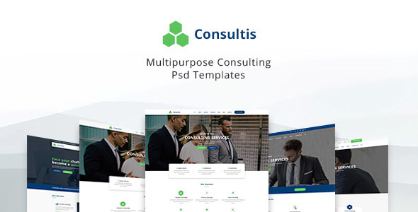 Consultis v1.0 — Multipurpose Consulting PSD Templates