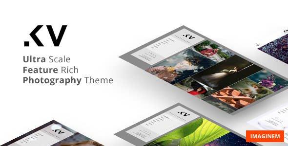 Kreativa v1.7 — Photography Theme for WordPress