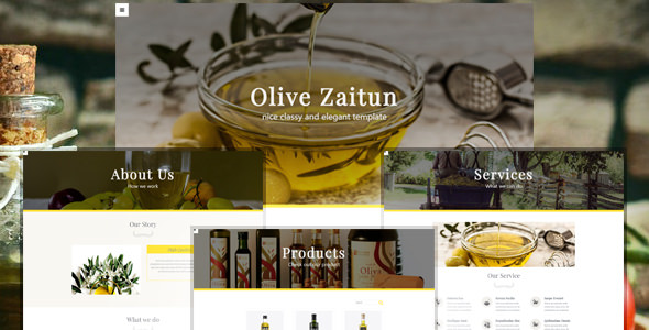Olive Zaitun v1.0 — HTML Website Template