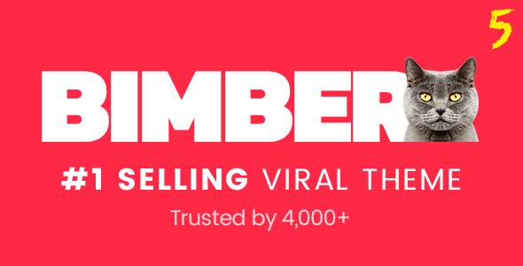 Bimber v5.3 — Viral Magazine WordPress Theme
