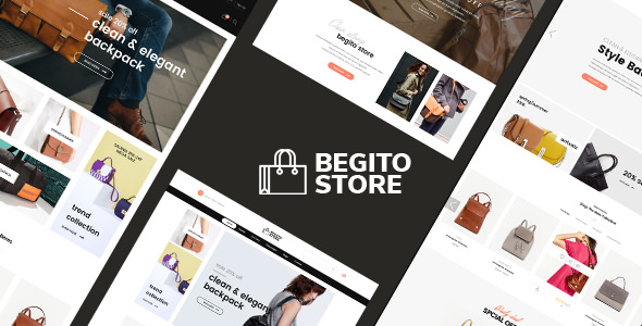 Begito — Bag Store Responsive Opencart 3.x Theme