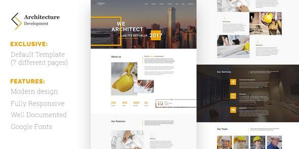 Architecture v1.0 — Development HTML Template