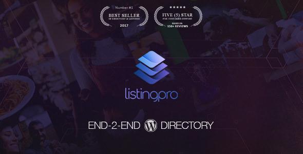 ListingPro v1.2.9 — Directory WordPress Theme