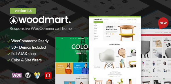 WoodMart v1.8.0 — Responsive WooCommerce WordPress Theme