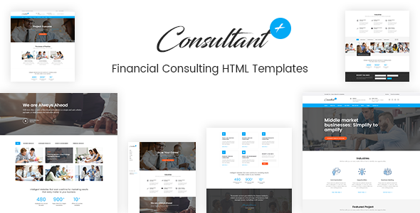 Consolution — Financial Consulting HTML Templates