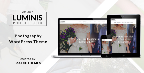 Luminis v1.1.2 — Photography WordPress Theme for Wedding, Travel, Event Portfolios