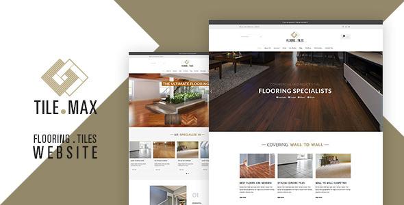 Tile Max v1.2 — Tile & Flooring WP Theme