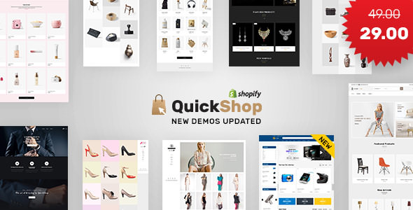 Quick Shop v1.3 — Sectioned Shopify Store