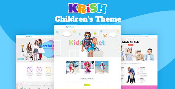 Krish v1.1 — Nursery School, Pre School Theme