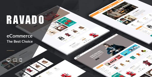 Ravado v1.0 — Coffee Shop Opencart Theme
