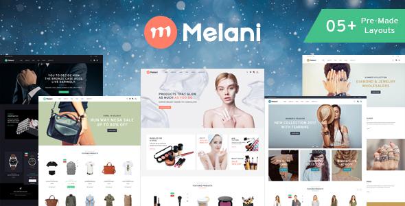 Melani v1.0 — Responsive Prestashop Theme