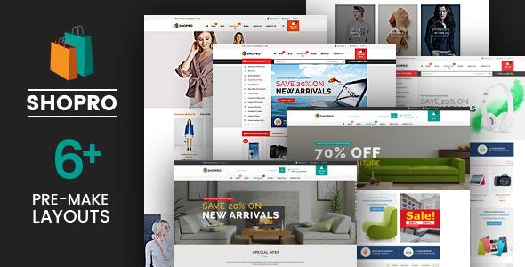 Shopro — Mega Store Responsive Magento Theme
