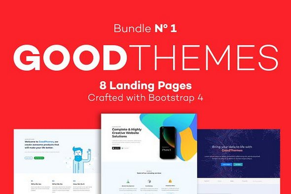 GoodThemes — Landing Pages Bundle 1