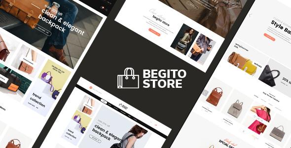 Begito v1.0 — Bag Store Responsive Prestashop 1.7 Theme