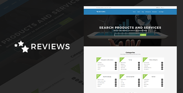 Reviews v4.9 — Products And Services Review WP Theme