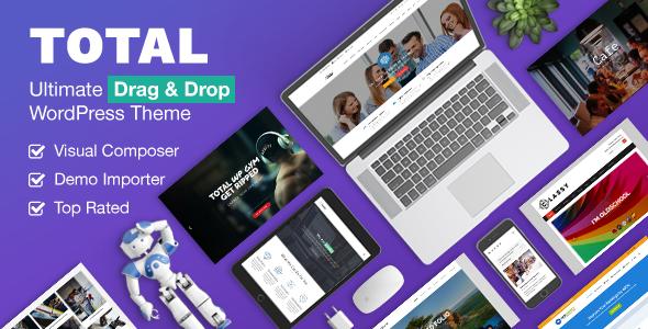 Total v4.5.4.3 — Responsive Multi-Purpose WordPress Theme