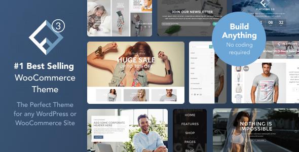 Flatsome v3.4.3 — Multi-Purpose Responsive WooCommerce Theme