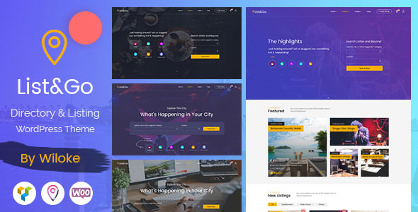 ListGo v1.6.2 — Directory WordPress Theme