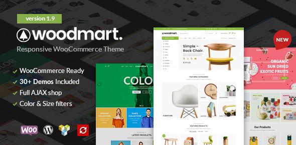 WoodMart v1.9.0 — Responsive WooCommerce WordPress Theme