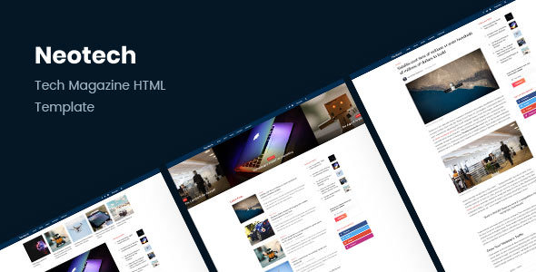 Neotech v1.1 — Tech Magazine HTML Template