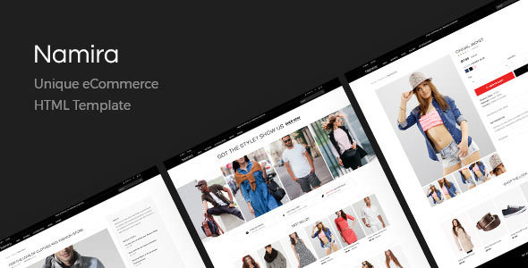 Namira v1.0 — Unique eCommerce HTML Template