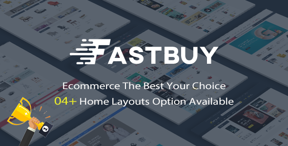 FastBuy v1.0 — Mega Shop Responsive Prestashop 1.7 Theme