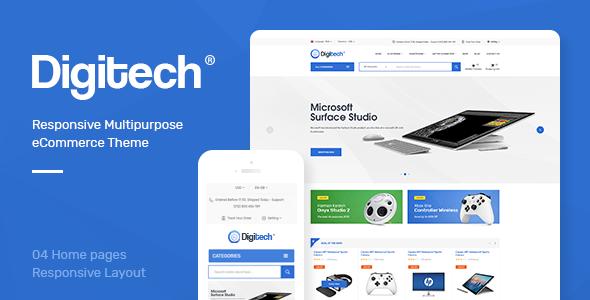 Digitech v1.0 — Responsive Prestashop Theme