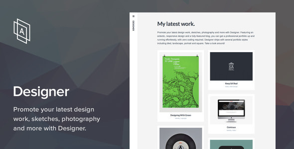 Designer v1.3.3 — WordPress Theme