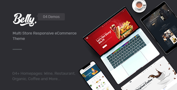 Belly — Wine, Food & Drink Theme for Opencart 3.x