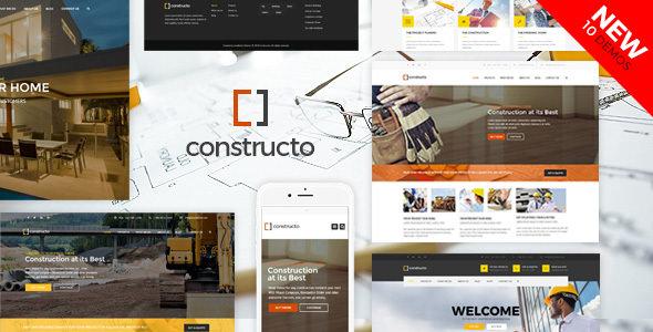Constructo v4.0.6 — WP Construction Business Theme