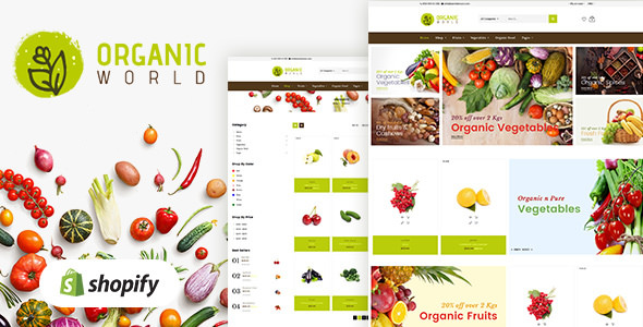 Organic v1.0 — Shopify Theme for Organics Store