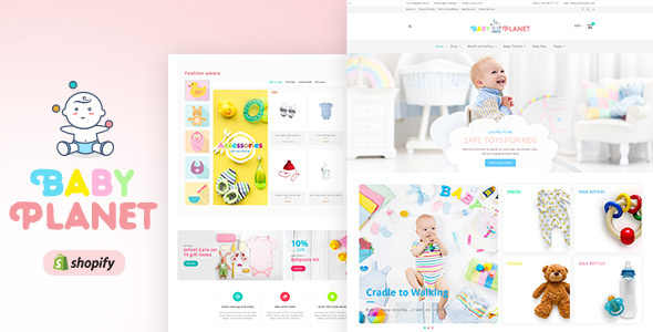 Baby Planet v1.0 — Kids Toys & Responsive Shopify Theme